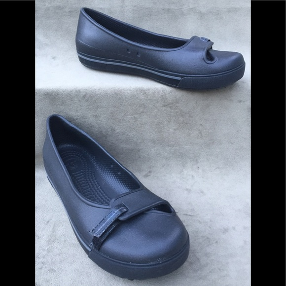 8f1c374d987 CROCS Women s Ballet Flats Slip On Comfort Shoes